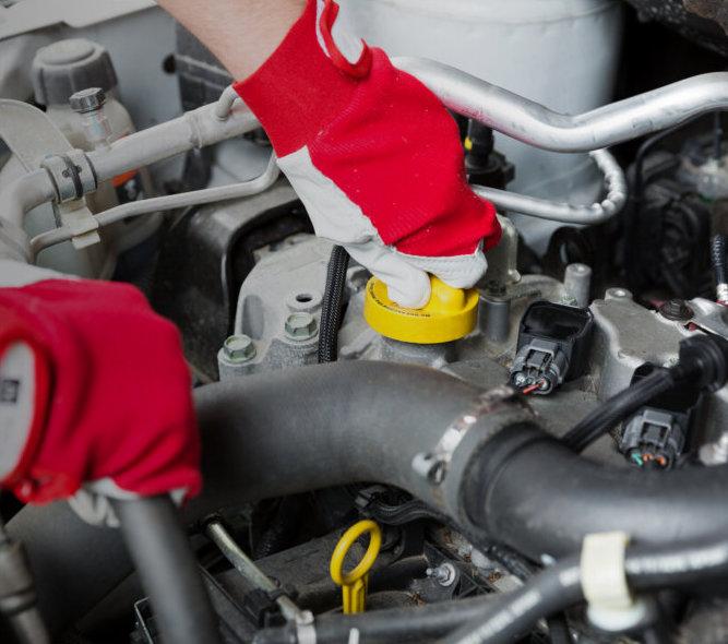 general maintence repair of an auto