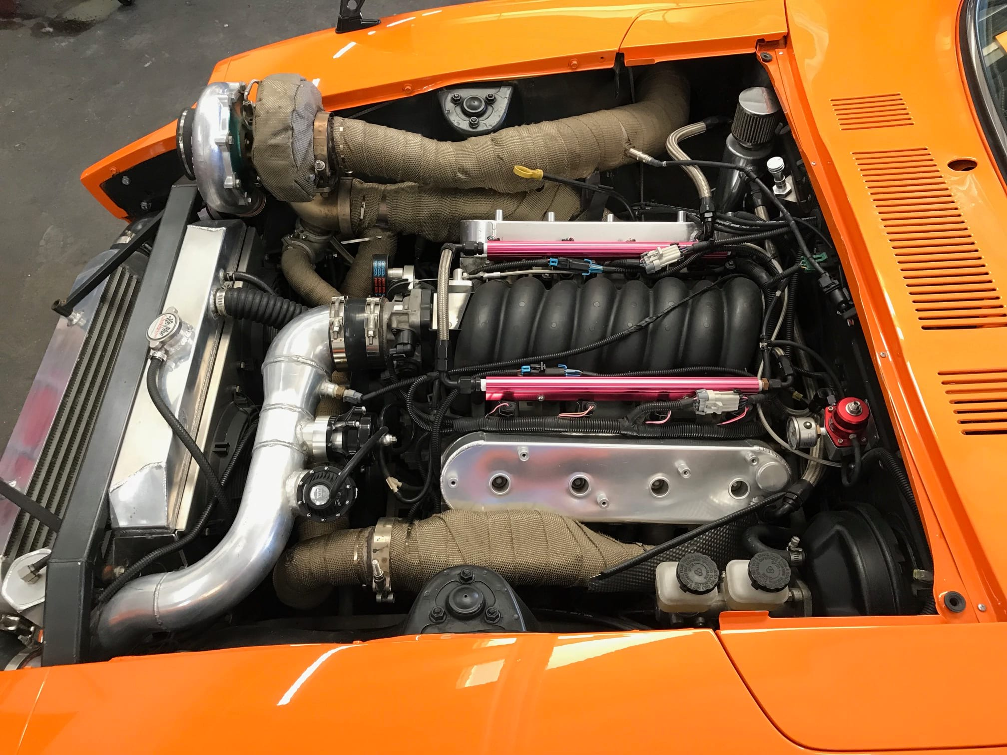 under the hood if a car