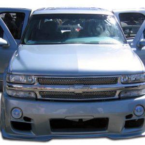 2000-2006 Chevrolet Tahoe Suburban 1999-2002 Silverado Duraflex Platinum Front Bumper Cover - 1 Piece