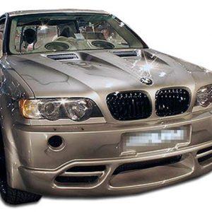 2000-2003 BMW X5 E53 Duraflex Platinum Front Bumper Cover - 1 Piece