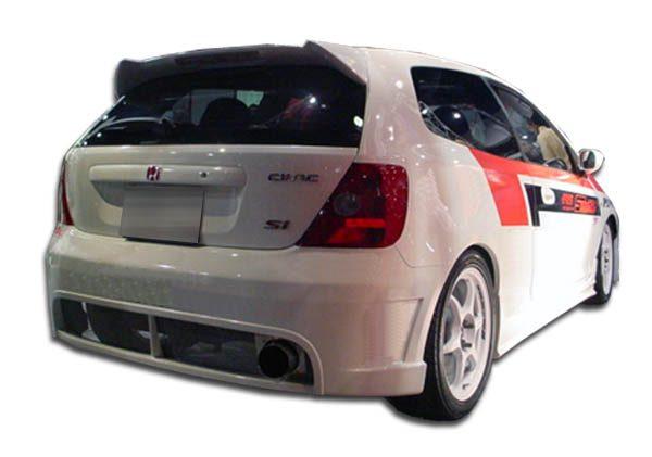 2002-2005 Honda Civic Si HB Duraflex JDM Buddy Rear Bumper Cover - 1 Piece