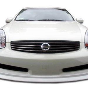 2006-2007 Infiniti G Coupe G35 Sport Polyurethane D-Spec Front Lip Under Spoiler Air Dam - 1 Piece (Overstock)
