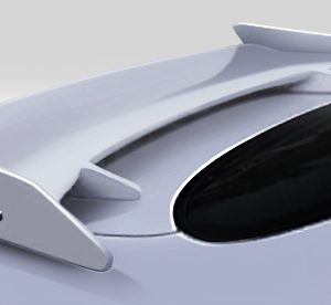 Universal Duraflex Sniper Wing Spoiler - 1 Piece