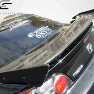 Universal Carbon Creations Sniper Wing Trunk Lid Spoiler - 3 Piece
