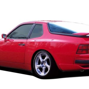 1977-1988 Porsche 924 Duraflex Turbo 944 Look Rear Fender Flares - 2 Piece