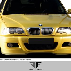 2001-2006 BMW M3 E46 2DR AF-1 Front Add-On Spoiler ( GFK ) - 1 Piece (Overstock)