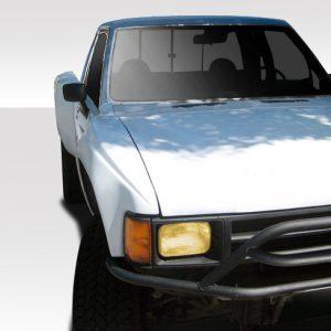 1984-1988 Toyota Pickup Ivan-Dan (Sharp) Duraflex Off Road 4 Inch Bulge Front Fenders - 2 Piece