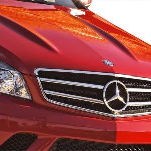 2008-2011 Mercedes C Class W204 Vaero C63 Look Conversion Grille and Mounting Accessories - 1 Piece