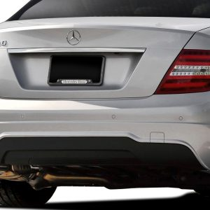 2008-2014 Mercedes C Class W204 C250 Vaero C63 V2 Look Rear Bumper Cover ( with PDC ) - 2 Piece