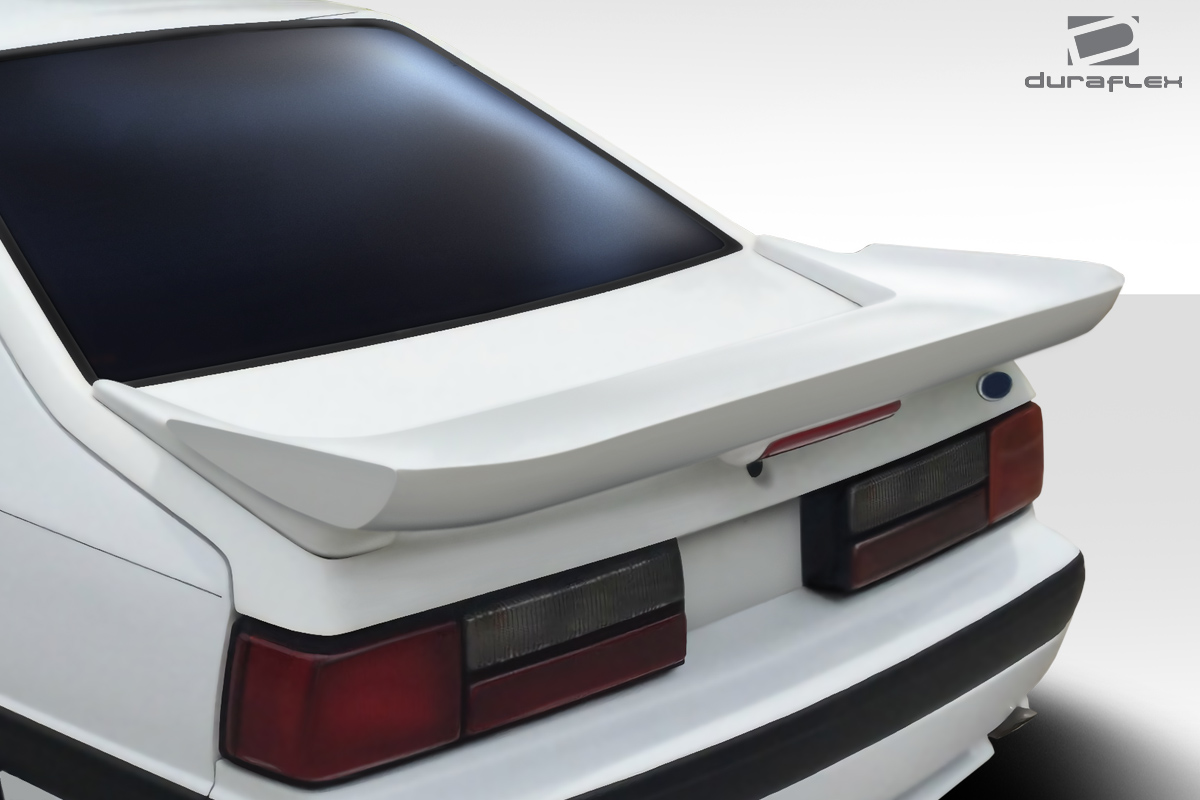 1979-1993 Ford Mustang Coupe / Convertible Duraflex Colt Rear Wing Spoiler - 1 Piece