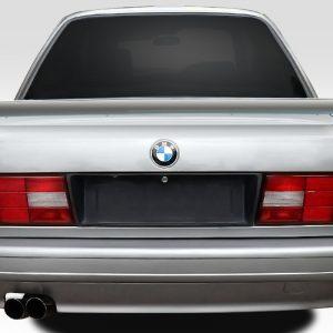 1984-1991 BMW 3 Series E30 Duraflex Evo Look Trunk Spoiler - 2 Piece