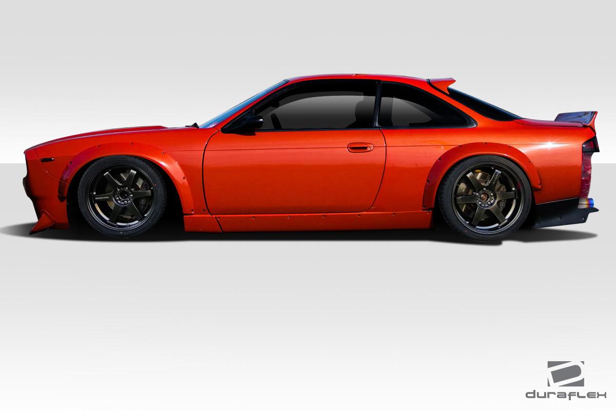 1995-1998 Nissan 240sx S14 Duraflex RBS V2 Wide Body Kit - 13 Piece