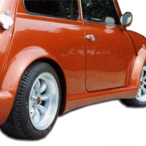 1959-2000 Mini Cooper Duraflex Type Z Wide Body Side Skirts Rocker Panels - 2 Piece