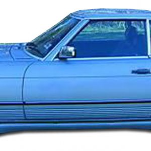 1971-1989 Mercedes SL Class W107 Duraflex LR-S Side Skirts Rocker Panels - 2 Piece