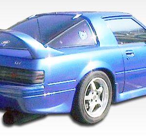 1979-1985 Mazda RX-7 Duraflex M-1 Speed Rear Lip Under Spoiler Air Dam - 1 Piece