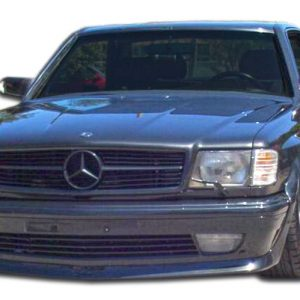 1981-1991 Mercedes S Class W126 2DR Duraflex AMG Look Wide Body Front Bumper Cover - 1 Piece