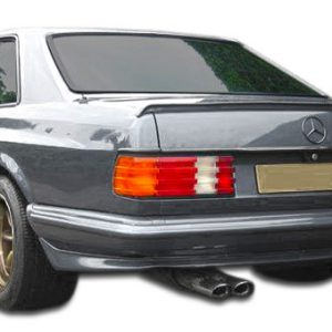 1981-1991 Mercedes S Class W126 2DR Duraflex AMG Look Wide Body Rear Bumper Cover - 1 Piece