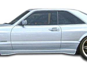 1981-1991 Mercedes S Class W126 2DR Duraflex AMG Look Wide Body Door Caps - 2 Piece