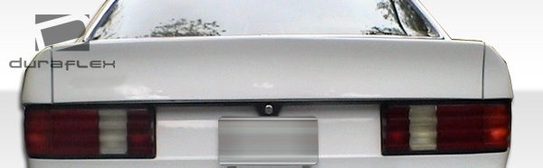 1981-1991 Mercedes S Class W126 Duraflex AMG Look Wing Trunk Lid Spoiler - 3 Piece