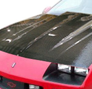 1982-1992 Chevrolet Camaro Carbon Creations Cowl Hood - 1 Piece