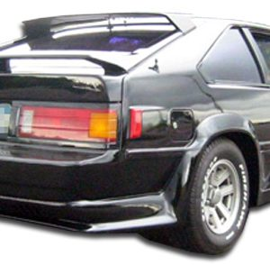 1982-1986 Toyota Supra Duraflex F-1 Rear Lip Under Spoiler Air Dam - 1 Piece