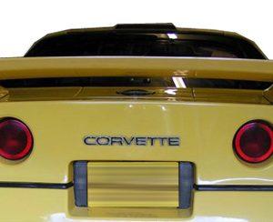 1984-1990 Chevrolet Corvette C4 Duraflex C-Force Wing Trunk Lid Spoiler - 1 Piece