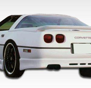 1984-1990 Chevrolet Corvette C4 Duraflex GTO Rear Lip Under Spoiler Air Dam - 1 Piece