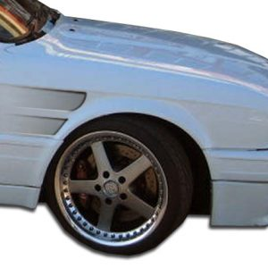 1984-1991 BMW 3 Series E30 2DR 4DR Duraflex GT Concept Fenders - 2 Piece