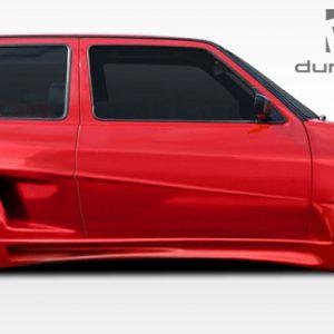 1985-1992 Volkswagen Golf 2DR Duraflex R-1 Door Caps - 2 Piece (Overstock)