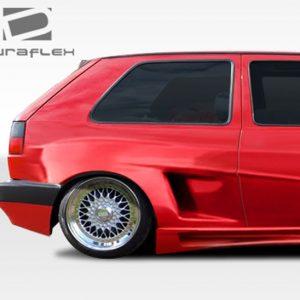 1985-1992 Volkswagen Golf 2DR Duraflex R-1 Wide Body Rear Fenders - 2 Piece (Overstock)