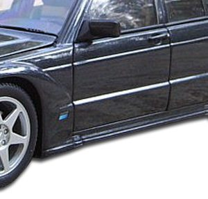 1984-1993 Mercedes 190 W201 Duraflex Evo 2 Wide Body Fender Flares - 6 Piece