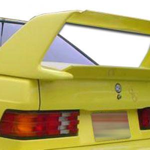 1984-1993 Mercedes 190 W201 Duraflex Evo 2 Wing Trunk Lid Spoiler - 2 Piece
