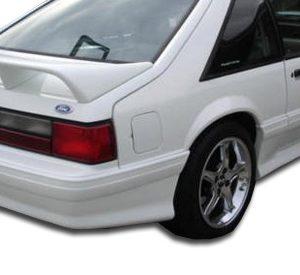 1979-1993 Ford Mustang Duraflex Cobra R Rear Bumper Cover - 1 Piece