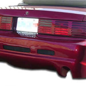 1979-1993 Ford Mustang Duraflex GTX Rear Bumper Cover - 1 Piece
