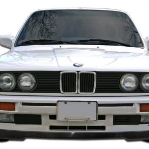 1988-1991 BMW 3 Series E30 Carbon Creations IS Look Front Lip Under Spoiler Air Dam (base model) - 1 Piece (Overstock)