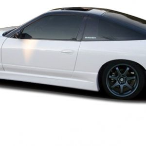 1989-1994 Nissan 240SX S13 Couture Urethane Hiro Side Skirts Rocker Panels - 2 Piece