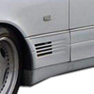 1992-1999 Mercedes S Class W140 Duraflex LR-S Door Caps - 2 Piece