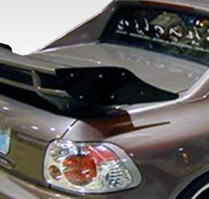 Universal Duraflex Saleen Wing Trunk Lid Spoiler - 1 Piece