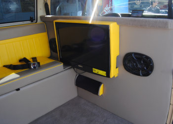 audio installed to a car