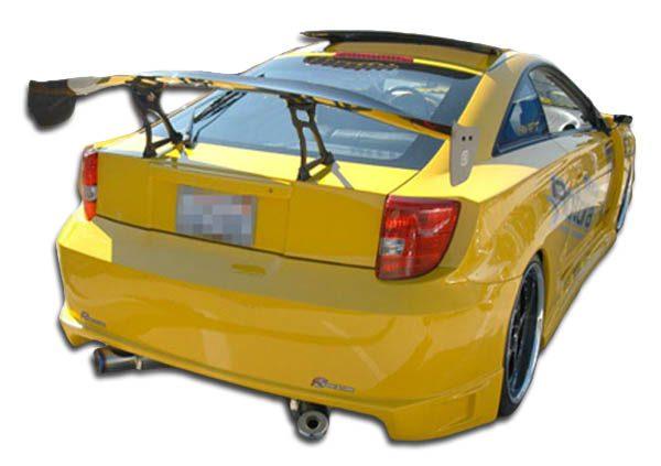 2000-2005 Toyota Celica Duraflex Blits Rear Bumper Cover - 1 Piece
