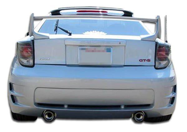 2000-2005 Toyota Celica Duraflex Type K Rear Bumper Cover - 1 Piece