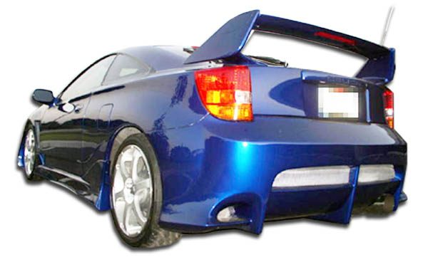 2000-2005 Toyota Celica Duraflex Vader SE Rear Bumper Cover - 1 Piece