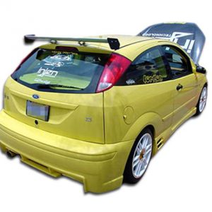 2000-2007 Ford Focus ZX3 Duraflex Evo Rear Bumper Cover - 1 Piece