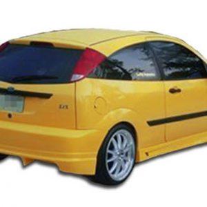 2000-2007 Ford Focus ZX3 ZX5 Duraflex Poison Rear Bumper Cover - 1 Piece