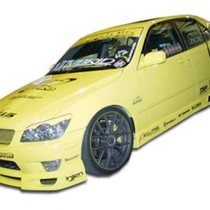 2000-2005 Lexus IS Series IS300 Duraflex V-Speed Side Skirts Rocker Panels - 2 Piece