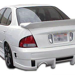 2000-2003 Nissan Sentra Duraflex Evo 4 Rear Bumper Cover - 1 Piece