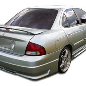 2000-2003 Nissan Sentra Duraflex R34 Rear Bumper Cover - 1 Piece (Overstock)