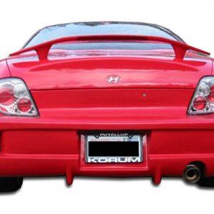 2000-2001 Hyundai Tiburon Duraflex Vader Rear Bumper Cover - 1 Piece