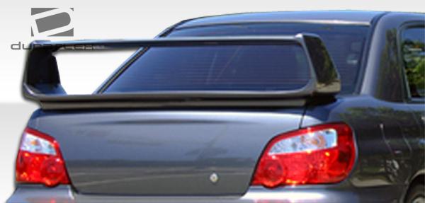 2002-2007 Subaru Impreza WRX STI 4DR Duraflex STI Look Wing Trunk Lid Spoiler - 1 Piece