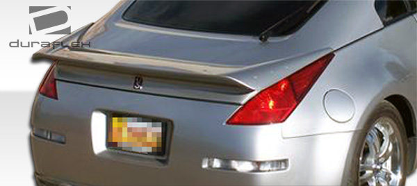 2003-2008 Nissan 350Z Z33 2DR Coupe Duraflex Vader 2 Wing Trunk Lid Spoiler - 1 Piece
